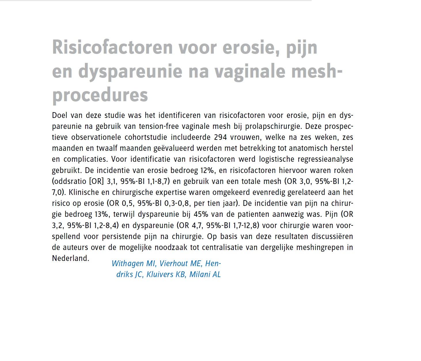 Artikel Obstet Gynaecol 2011